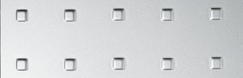SIBU Design structure-line_square_3_silver_pf_met_1